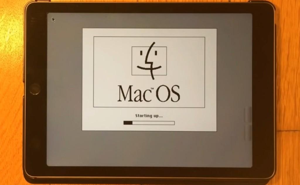 iPadをハックして19年前の旧Mac OSを動かす強者が現れる!!!