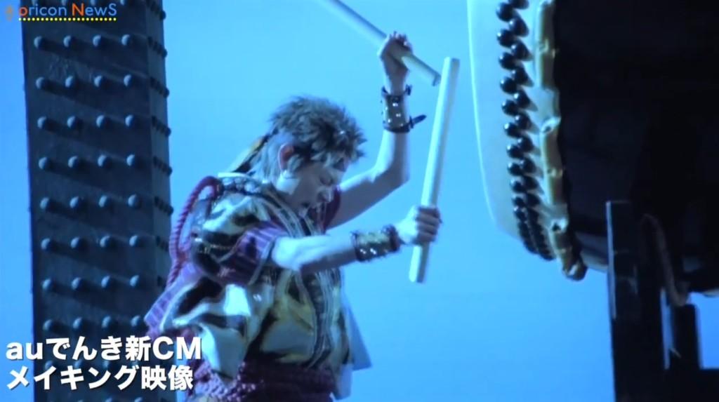 【au三太郎】鬼ちゃんが男気あふれる和太鼓を披露!仮映像が先行公開!!
