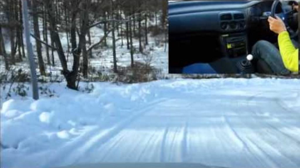 雪道の下りカーブで「曲がれない!」と思った時の対処法!!