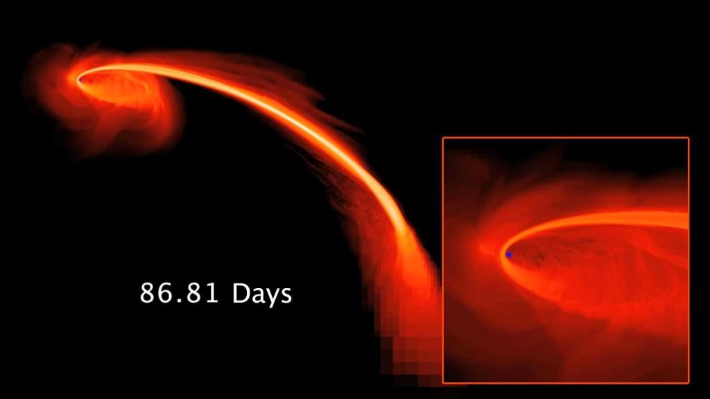 【宇宙ヤバイ】実際に観測されたブラックホールが星を吸い込んでいく様子が凄い!!!