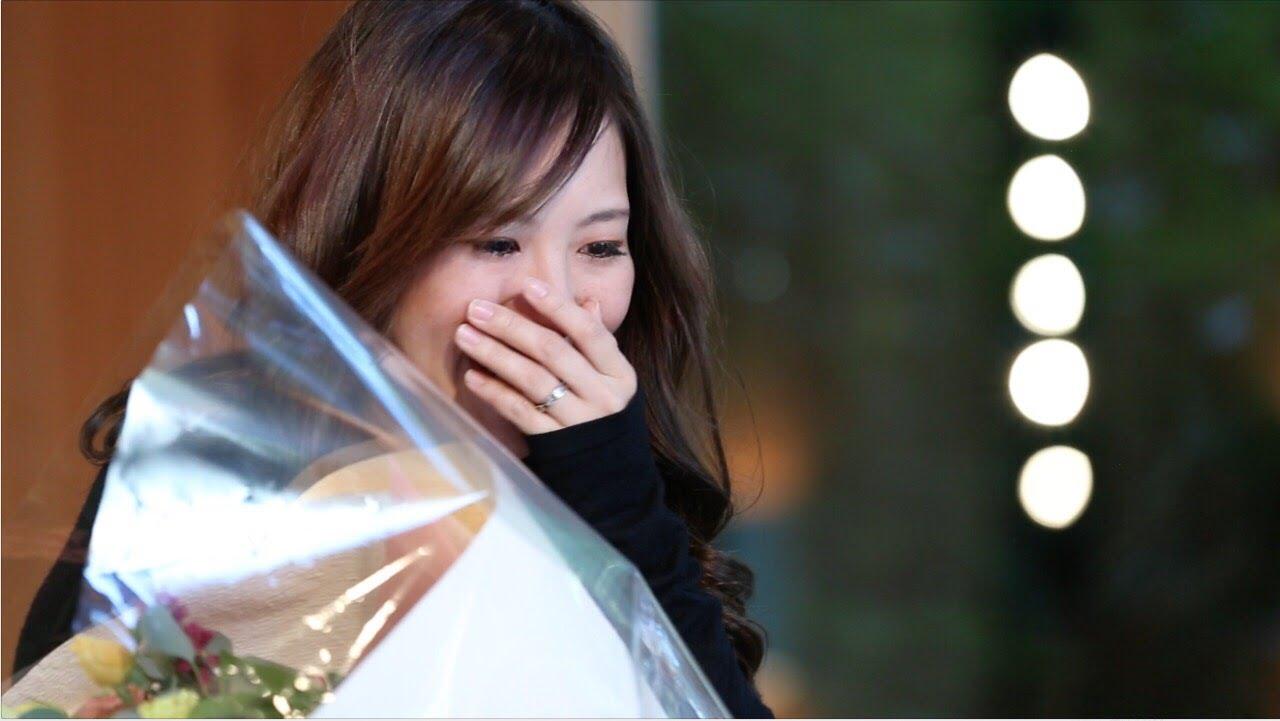 【感動】チャペルでのサプライズプロポーズが素敵♡(フラッシュモブ)