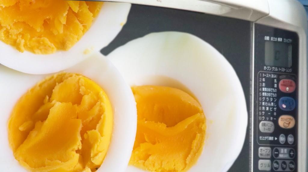 電子レンジでゆで卵を作る方法が早くて超簡単!!