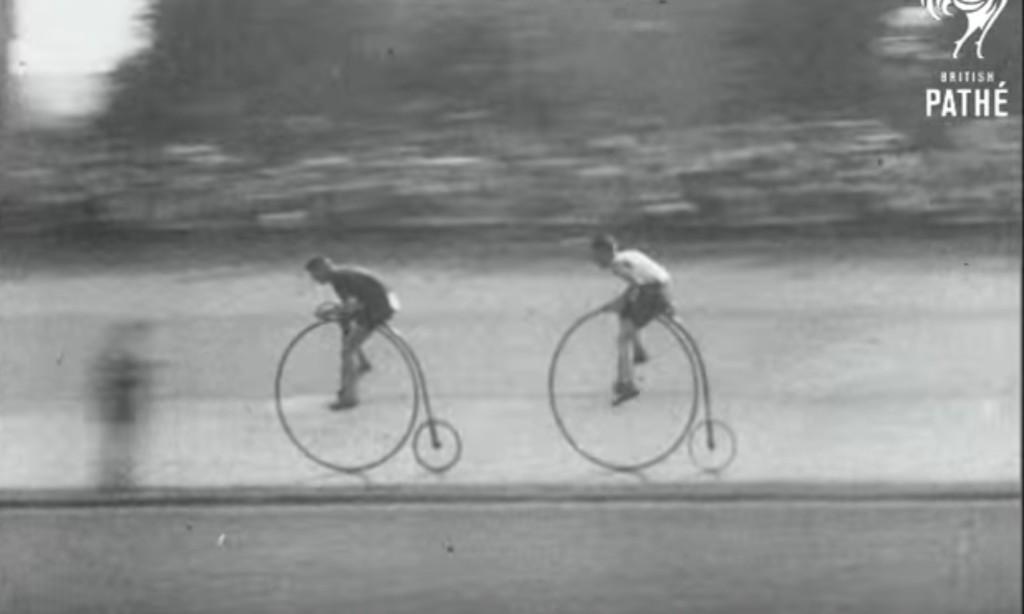 1928年の自転車レースの貴重映像。現代のロードバイクと同程度の実力!?