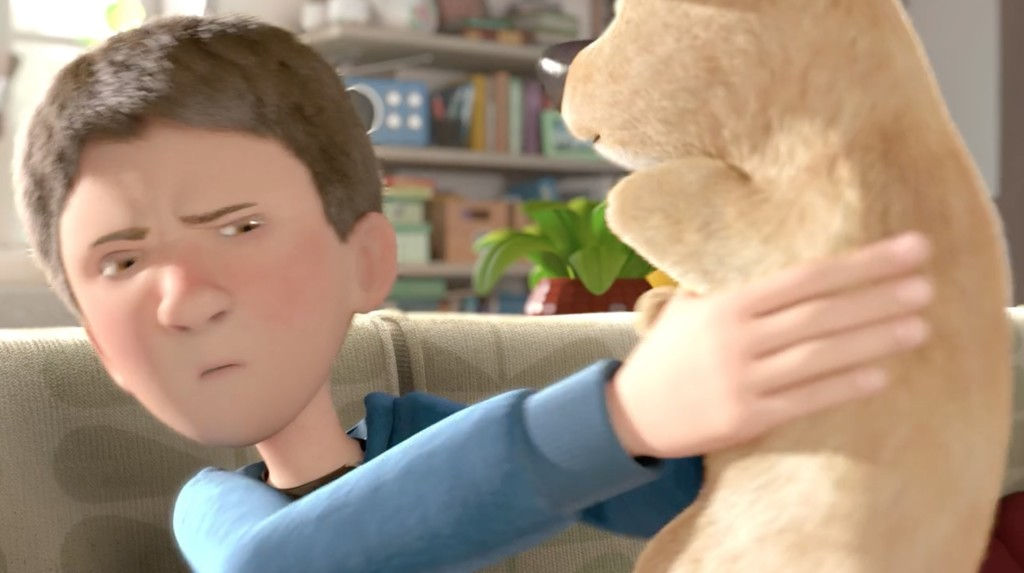 【感動】家でゲームばかりの少年に贈られたのは片足の子犬。世界で評価される感動短編アニメ