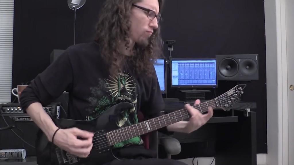 iPhone標準のあの着信音をメタルアレンジで超絶ギタープレイ!!