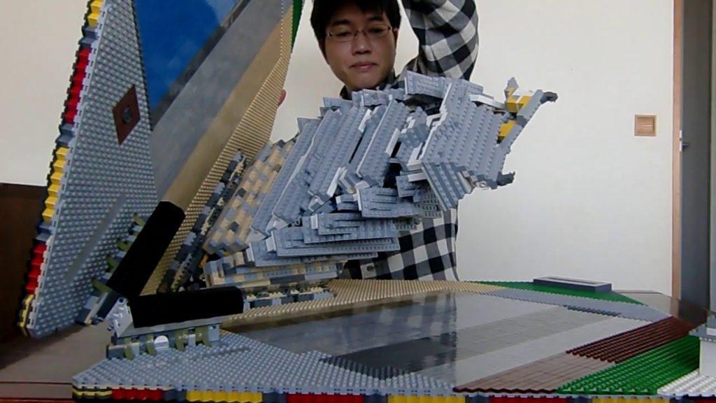 【神業】日本人による「飛び出すレゴ」の姫路城が別次元だと海外で話題に!!!