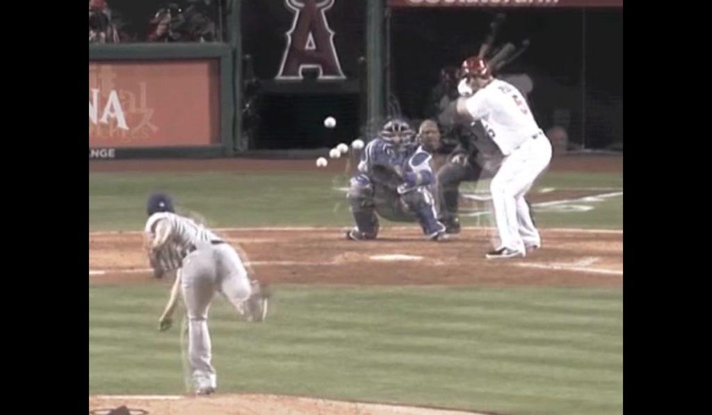 これは凄い!ダルビッシュの投球映像を重ねてみると、同じフォームから様々な変化球が!!