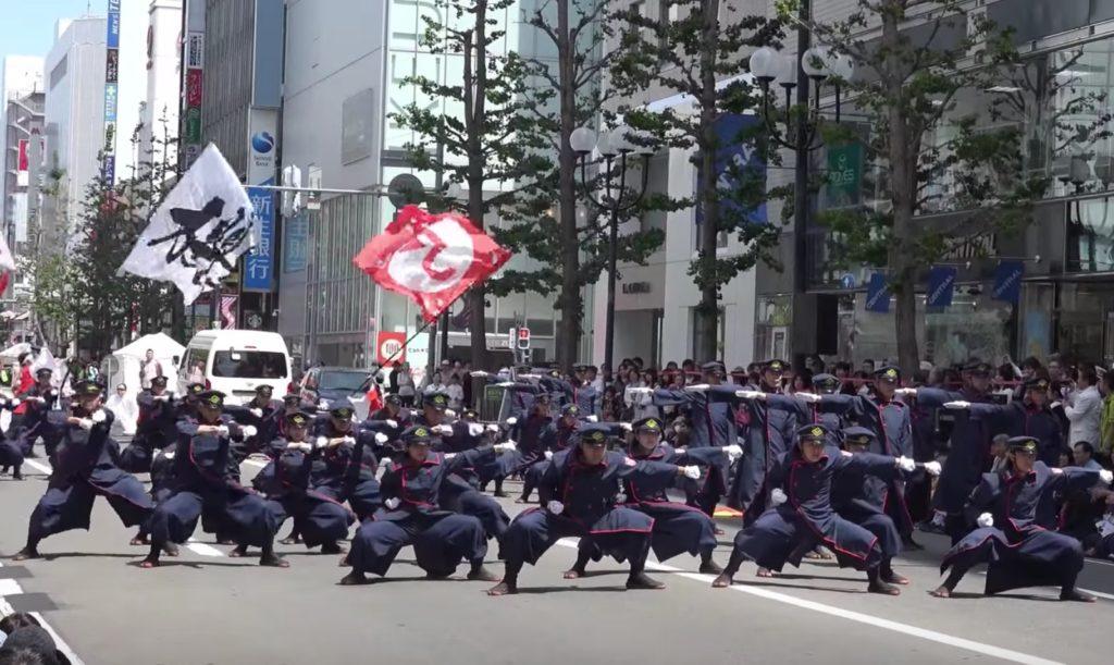 カッコイイと話題になったJR九州の職員によるよさこいチーム「櫻燕隊」がまたやってくれた!キレッキレのパフォーマンスで大賞二連覇を達成!!