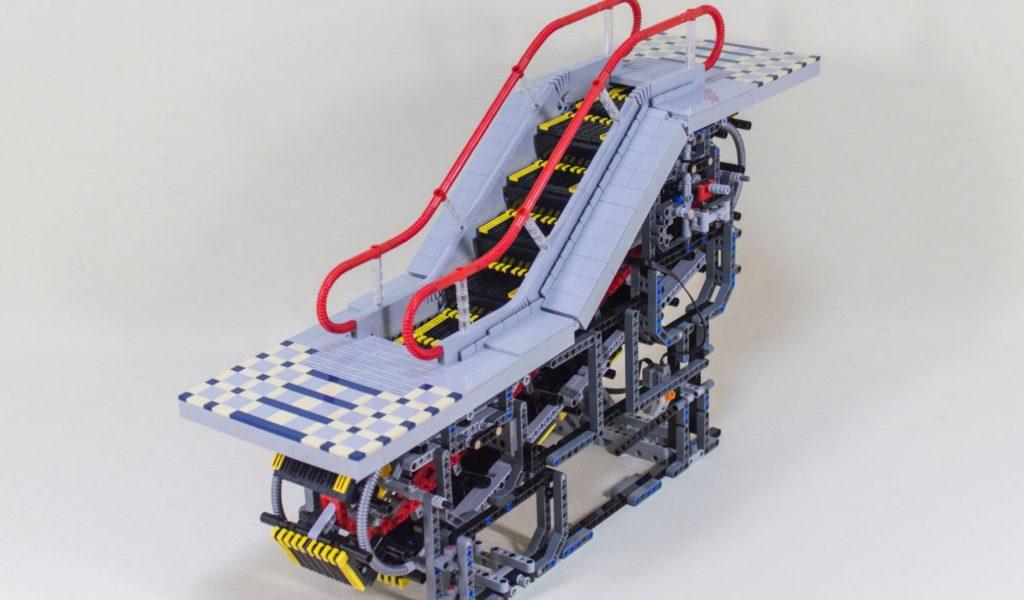 超リアルな実際に動くレゴ製エスカレーターが凄い!構造がよく分かる!!