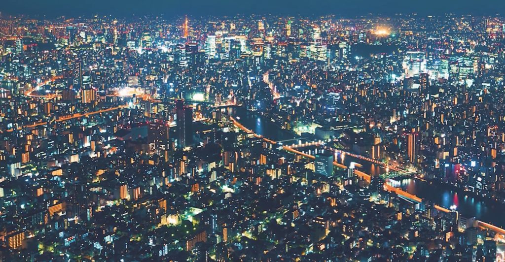 外国人アーティストが「東京の夜」をテーマにタイムラプス撮影した映像が美しい!!