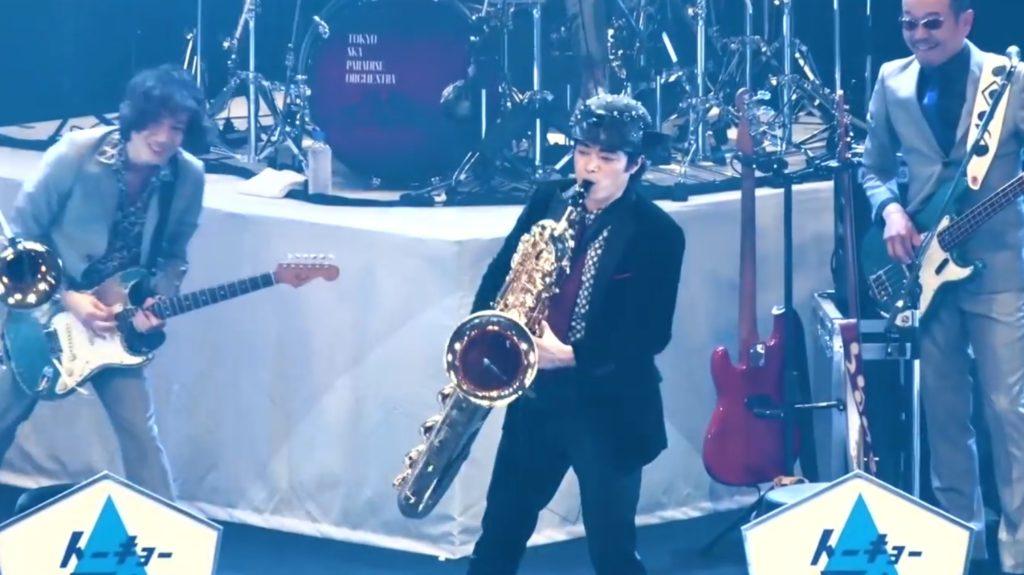 【鳥肌】東京スカパラのライブに「さかなクン」が参加!超絶かっこいいサックス演奏に鳥肌!!