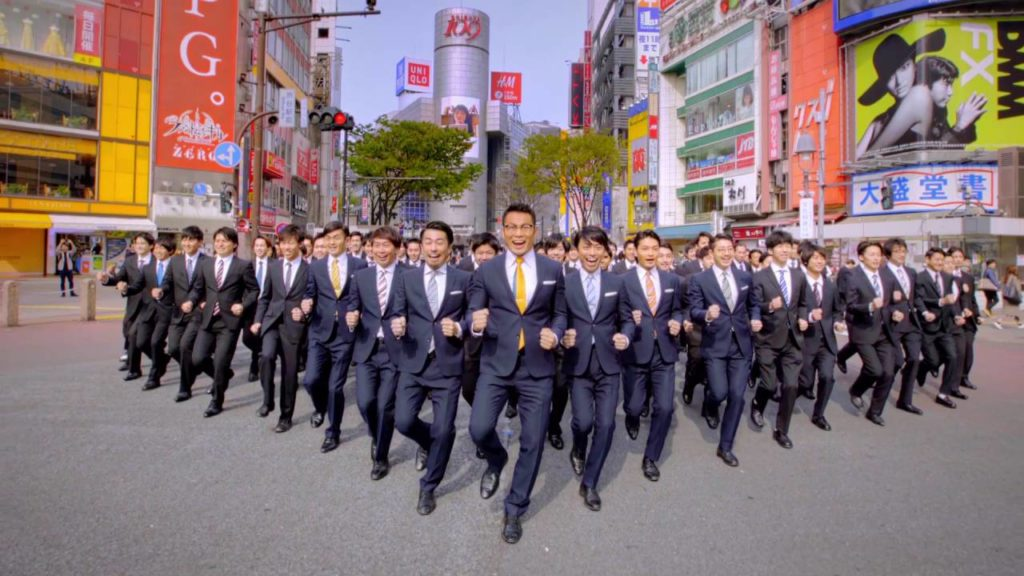 須藤元気さん復活!「WORLD ORDER」が渋谷で100人でパフォーマンス!!