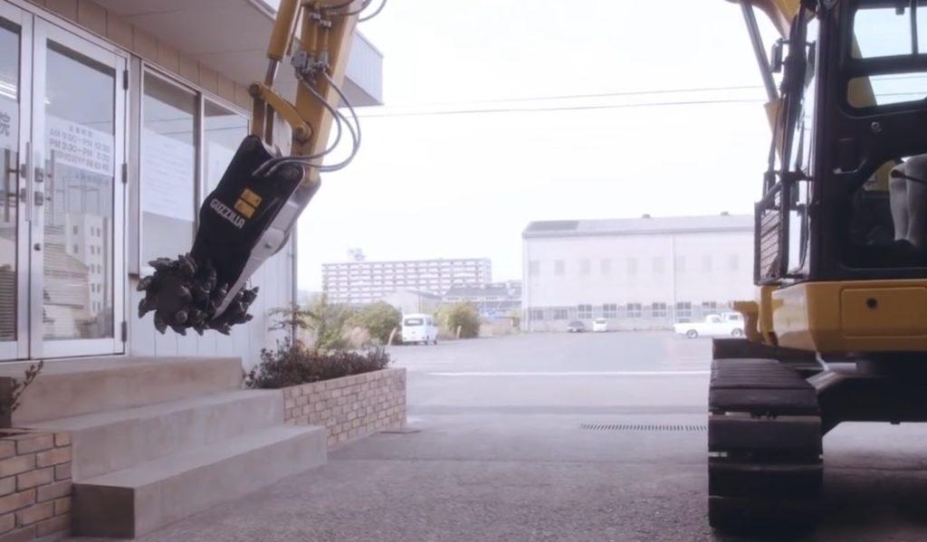 この「ガリガリ君」強力すぎ!ガリガリ削って階段をスロープに改造!!
