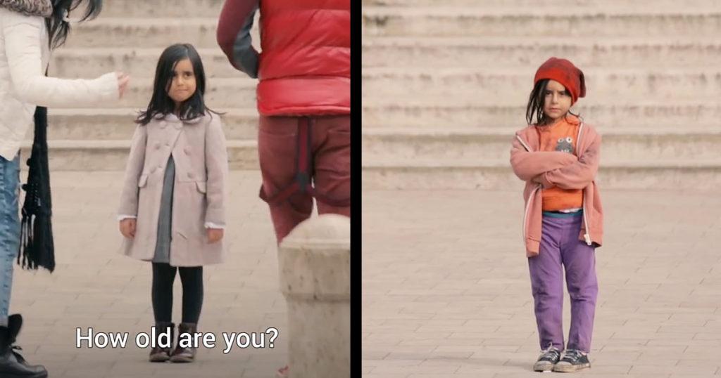 子どもの「見た目」だけで、こんなにも大人たちの態度が違う。。とある社会実験に考えさせられる。