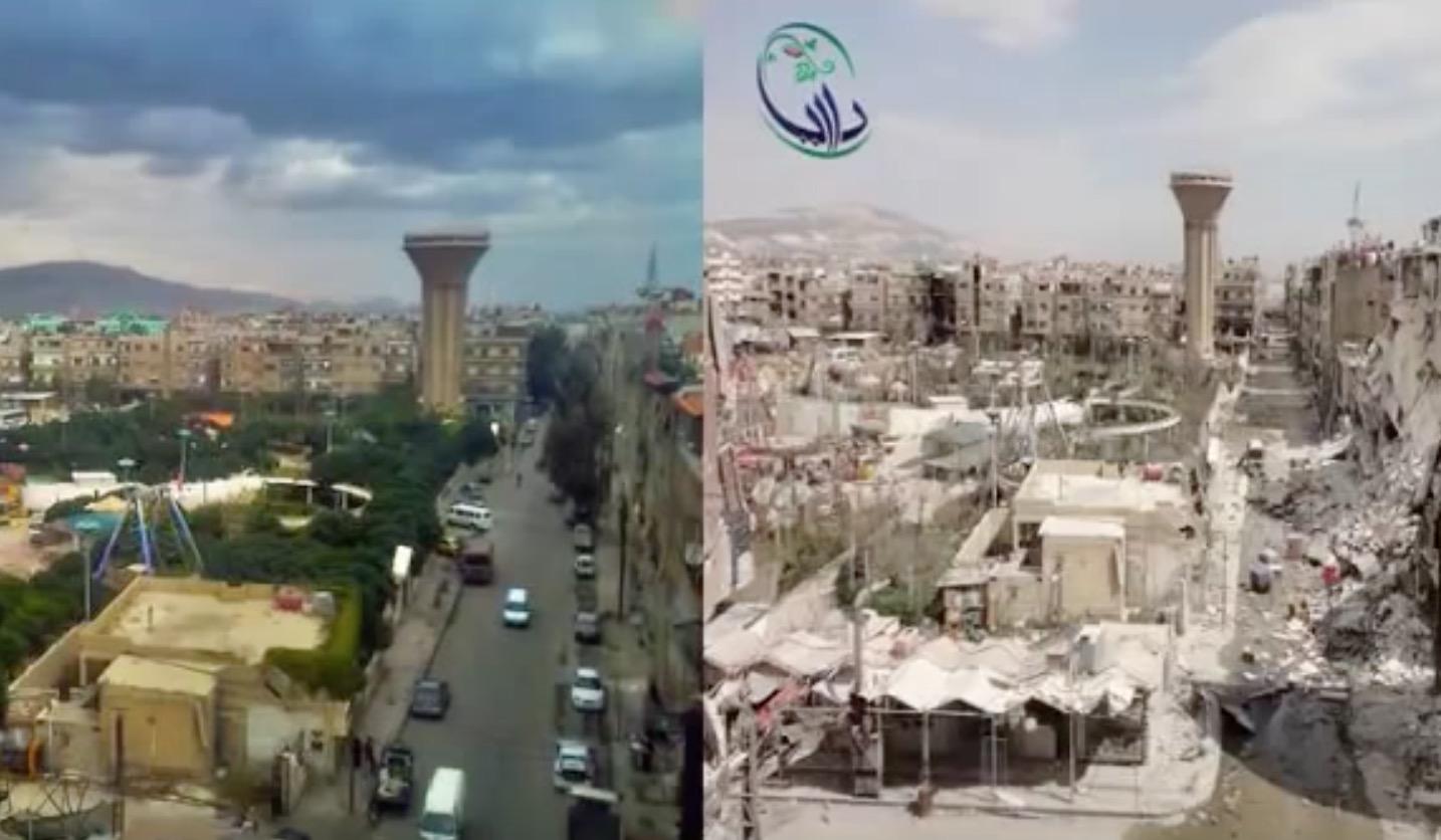 美しい街並みが、、シリアの戦争前と現在の比較写真に心が痛む。。
