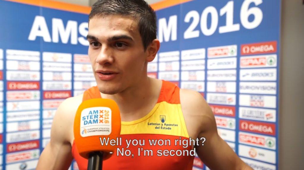 「銀メダル」だと思っていたら「金メダル」だったと知った選手の反応が最高すぎる!初めは全く信じていなかったものの、、
