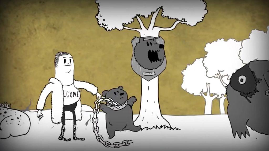 【閲覧注意】「人間」の存在を痛烈に風刺したアニメーションが刺さる。。
