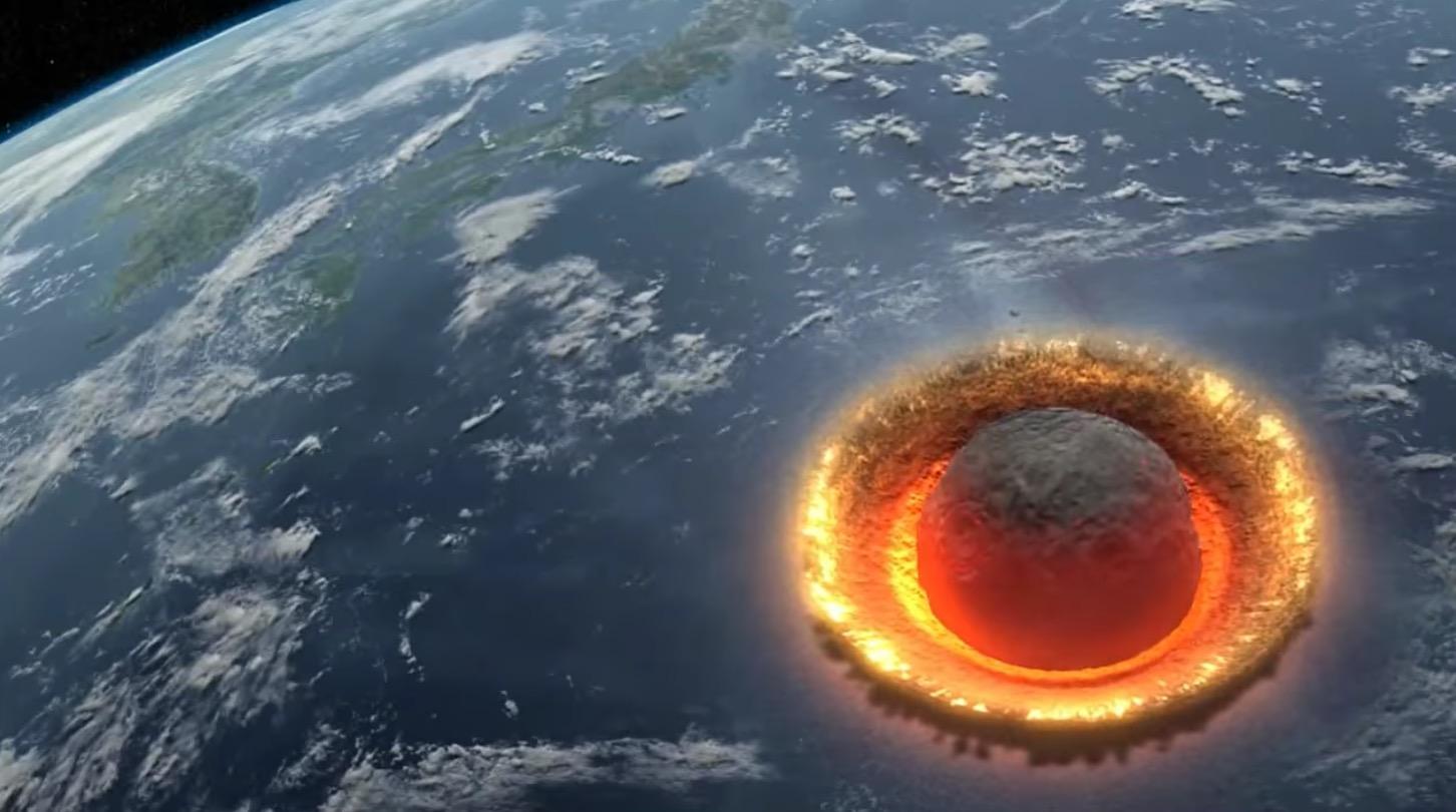 もし直径500kmの小惑星が地球に落下したら、、シミュレーション映像に戦慄!!