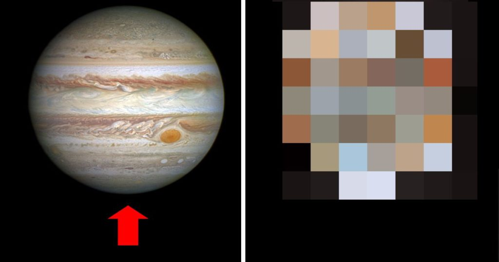 NASAが木星を下から見た写真を公開!神秘的な姿に驚きの声!!