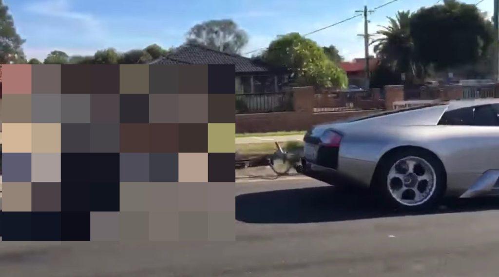 オーストラリア人の「ランボルギーニ」の使い方がワイルドすぎるwwwwwww