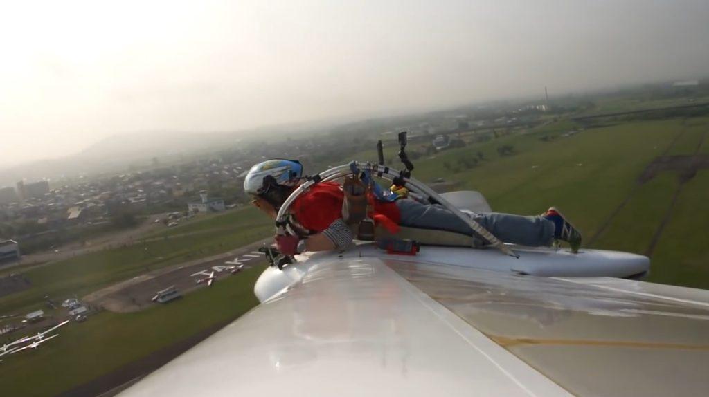 ナウシカの「メーヴェ」実機の性能が飛躍的に向上!8の字飛行をする翼からの迫力映像が公開!!