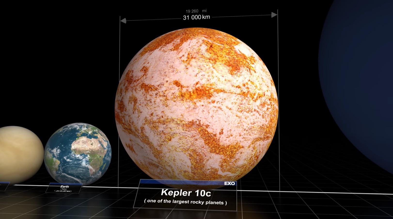 宇宙はさらに広大だった!あの宇宙のサイズ比較映像が「最新理論」を考慮した最新版に!!