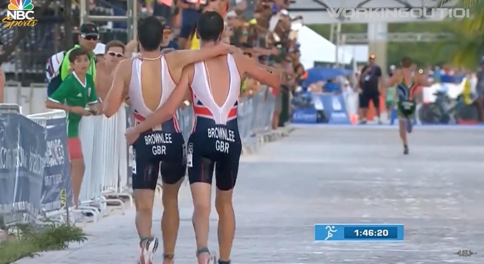トライアスロン五輪金メダリストが、勝利を捨てて見せた兄弟愛に世界が感動!!