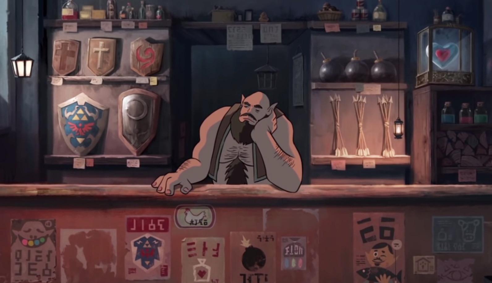 もしジブリが「ゼルダの伝説」を作ったら?海外のファンが作った動画が美しい!!