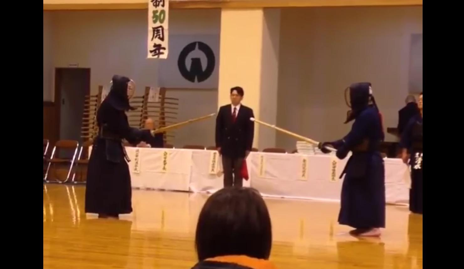 これは予想外!剣道の達人たちの大将戦が凄いと話題に!「神の領域」「こんな試合見たことない」