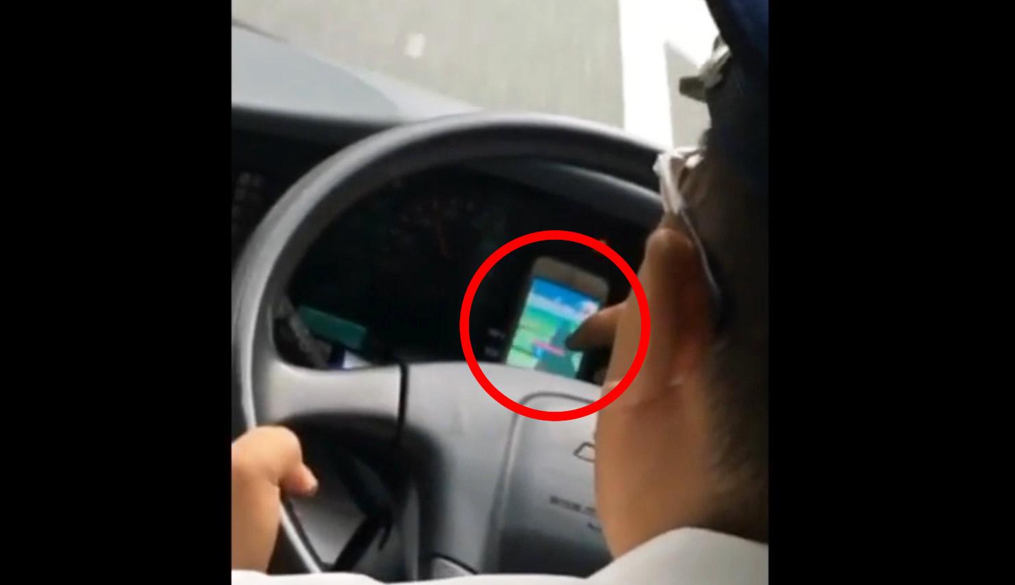 バス運転手が「ポケモンGO」をプレイしながら運転する動画がアップされ、批判殺到!!