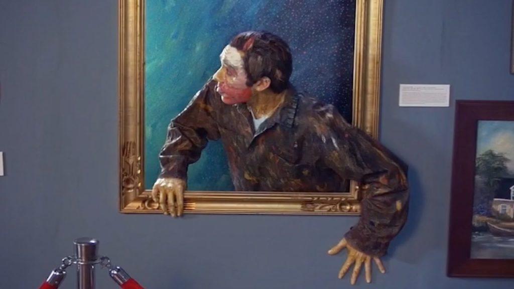 【映像マジック】絵画の中から出てきちゃった!一体どうなっているんだ?!