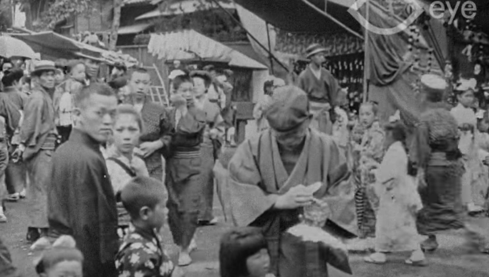 約100年前の東京の鮮明な動画が公開!音声付きで当時の雰囲気がよくわかる!!