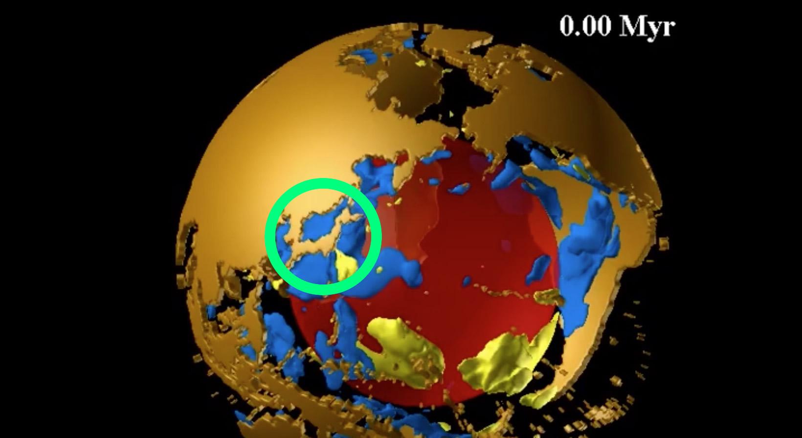 日本が大陸と合体し「島国」ではなくなる!現在から2億5000万年後までの大陸移動のシミュレーションが凄い!