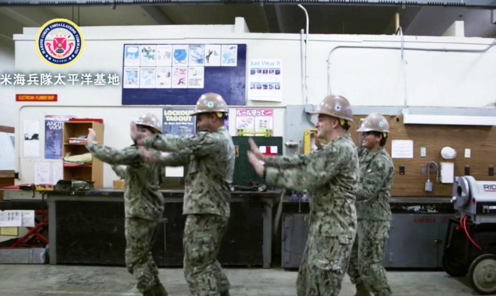 アメリカ海兵隊が一生懸命「恋ダンス」を踊った動画が話題に!