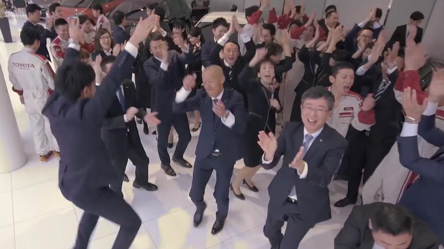 なんだか楽しそう!「トヨタ」総勢約5,000名がオリジナルソングで踊るアットホームな動画が公開!!