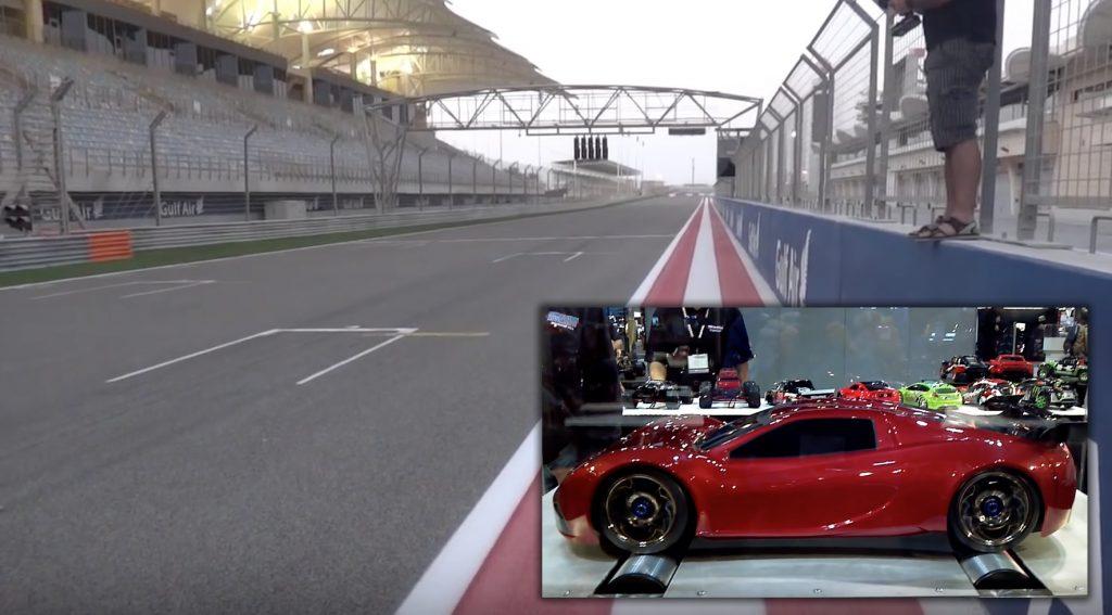 市販世界最速クラスのラジコンカー「XO-1」が時速200km近くでぶっ飛ばす映像に度肝を抜かれる!