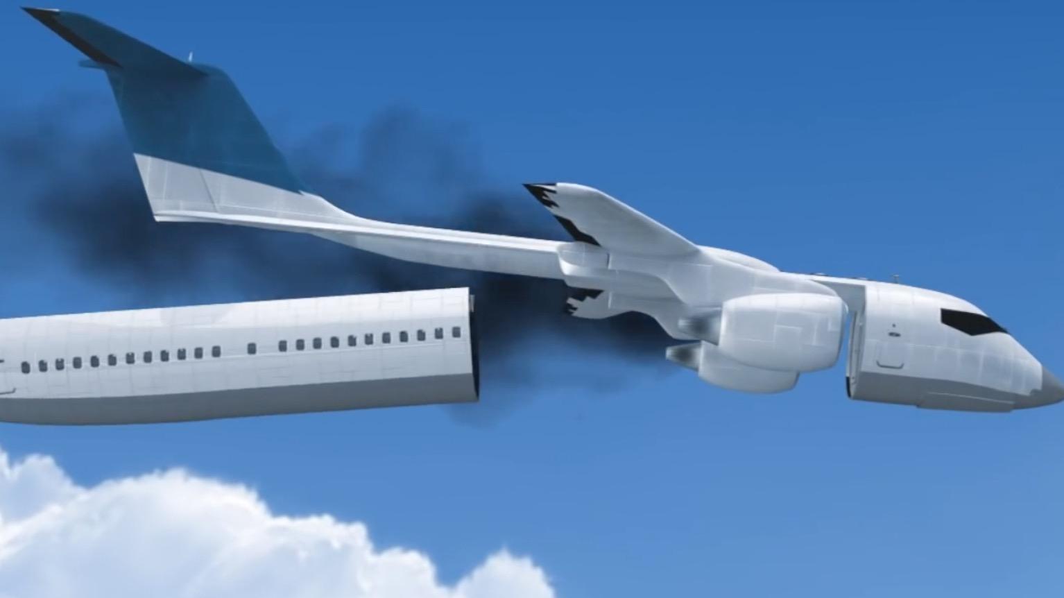 非常時に客室を切り離す、安心設計の飛行機がスゴい!