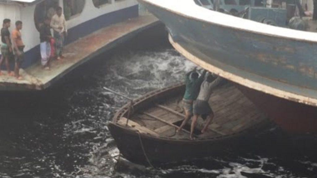 戦場すぎる船着場、、!