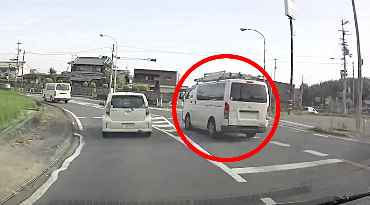 【奈良】毎朝危険運転で目撃されるという車がヤバい。。道交法を完全無視
