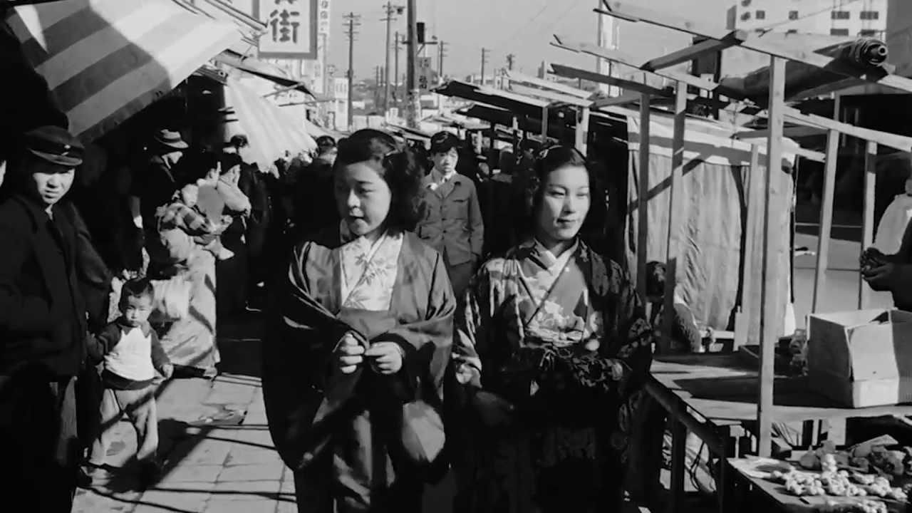 終戦直後の新橋・渋谷・横浜を撮影した高解像度映像。当時の様子がよくわかる