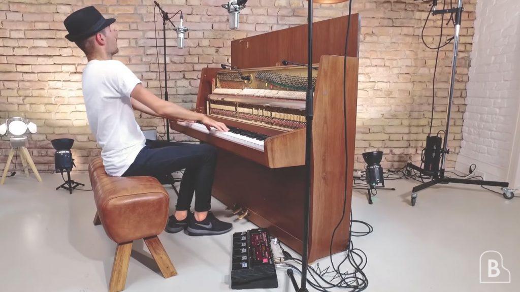 【鳥肌】凄い奏法!ループマシンを駆使したピアノ演奏が超かっこいい!