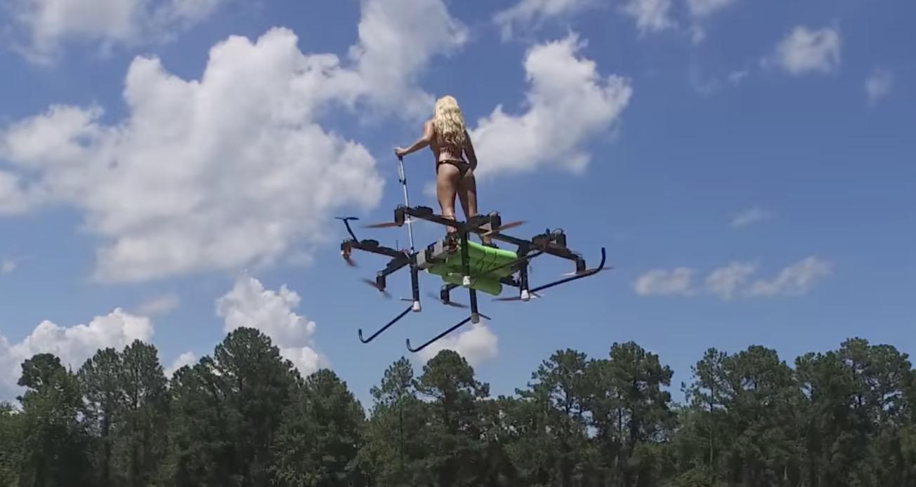 人が乗れるドローンが超進化!飛行も安定していて凄い!