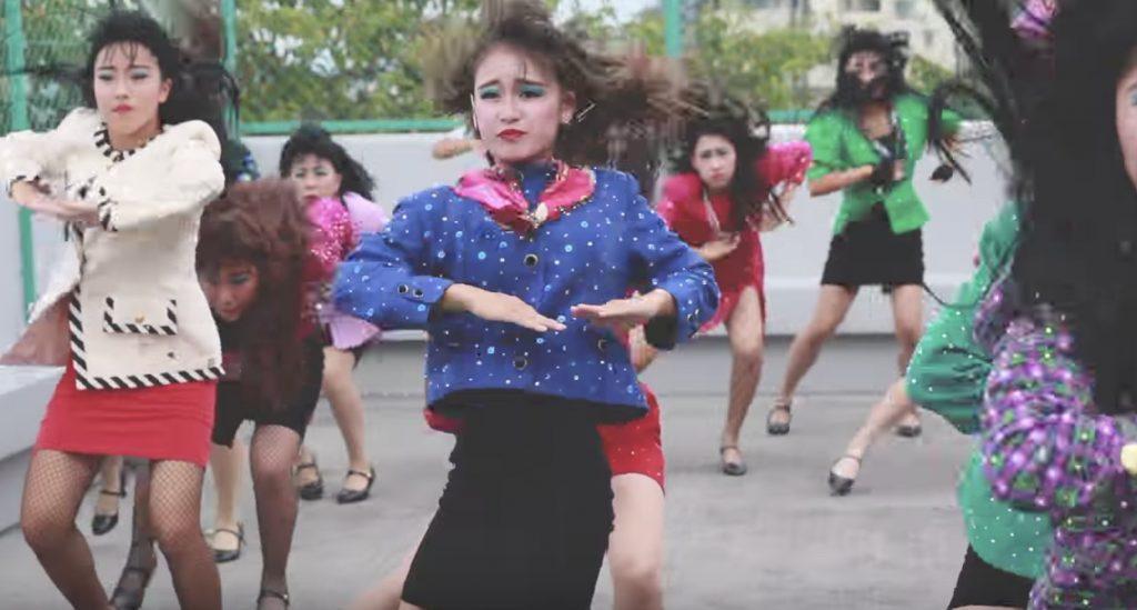 「登美丘高校ダンス部」がプロダンサーとコラボ!「元気が出る」と話題に!