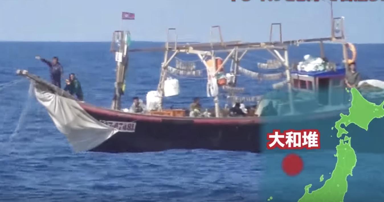 北朝鮮の違法イカ漁船を撃退する、海上保安庁の「平和的」方法→イカを濡らす