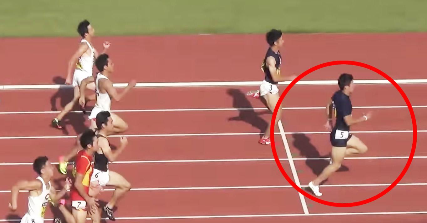 日本人初の100メートル9秒台を記録した桐生祥秀(21)選手の走り。伸びが気持ち良い!