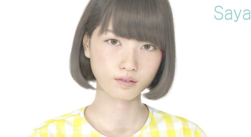 リアルすぎてCGだと気づかない、、CG女子高生「Saya」の最新映像が公開!