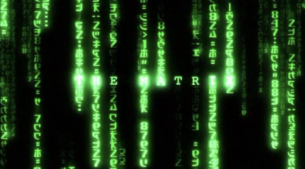 公開から18年「マトリックス」のコード画面の秘密が判明!