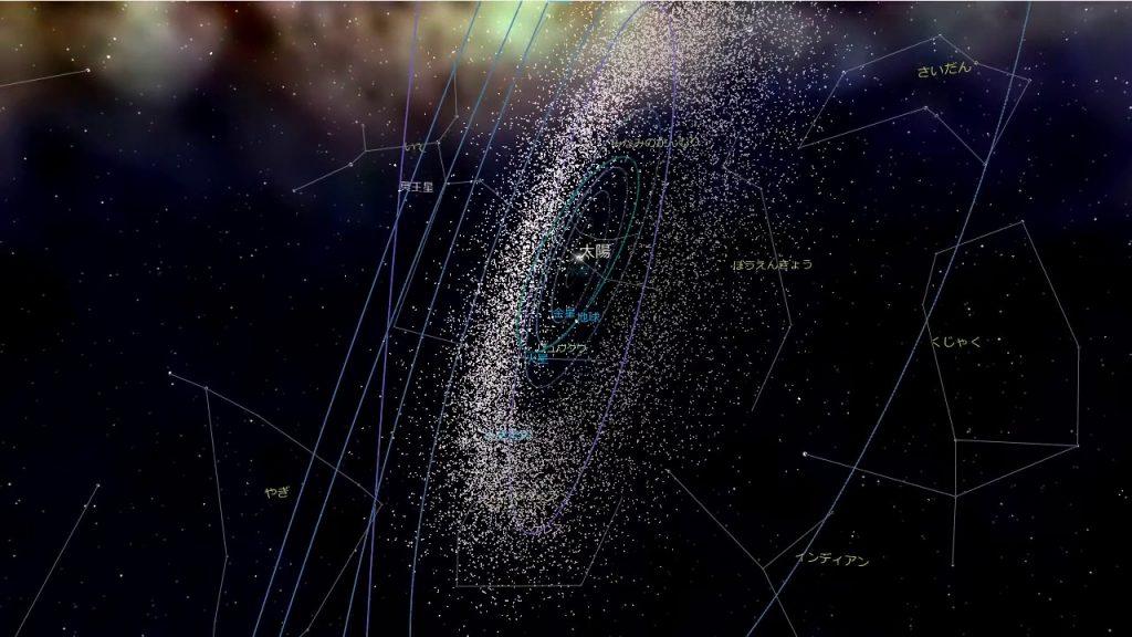 国立天文台が作った「宇宙の広さを体感できる映像」がスゴい!!