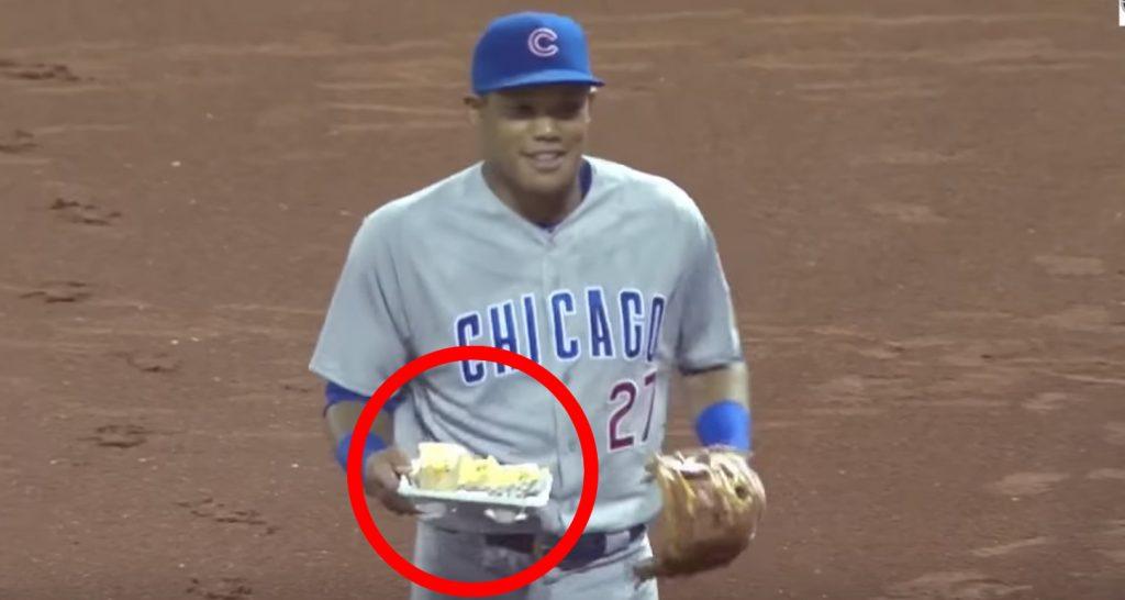 【MLB】試合中ファンの食事を落としてしまった選手、お詫びに代わりの食事をデリバリー