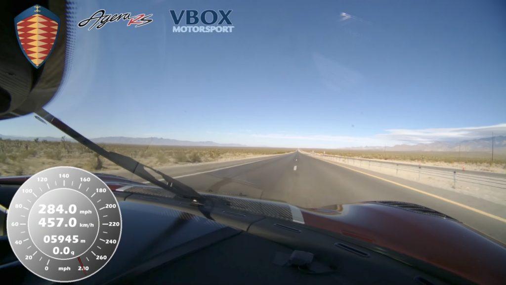 ケーニグセグ「アゲーラRS」が時速457kmで世界最速の市販車に!車載映像が速すぎてヤバい